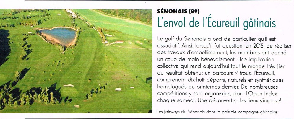 Article golf magazine
